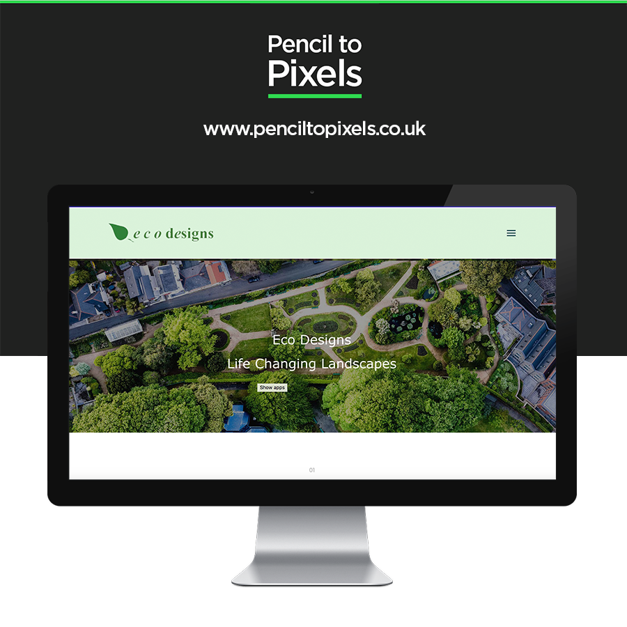 gardening website design