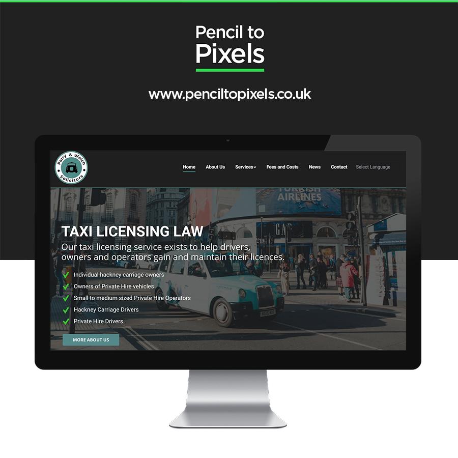 licensing website design