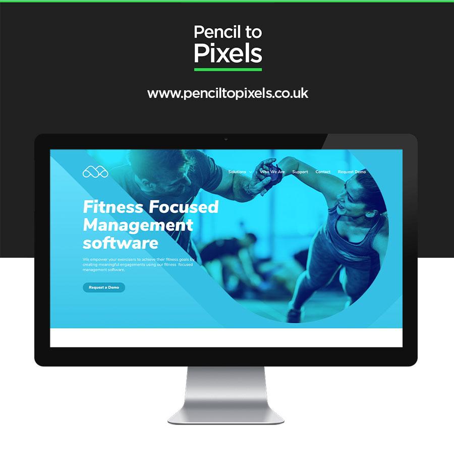 gym website designer