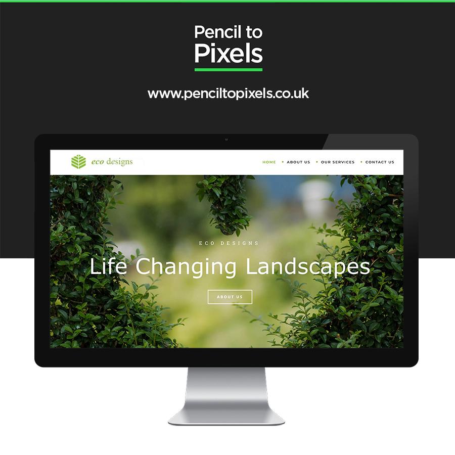 landscape website designer
