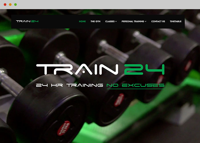 horwich gym website designer
